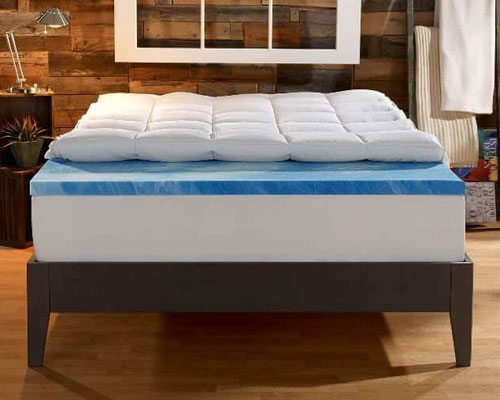 Sleep-Innovations-4-inch-Dual-Layer-Gel-Memory-Foam
